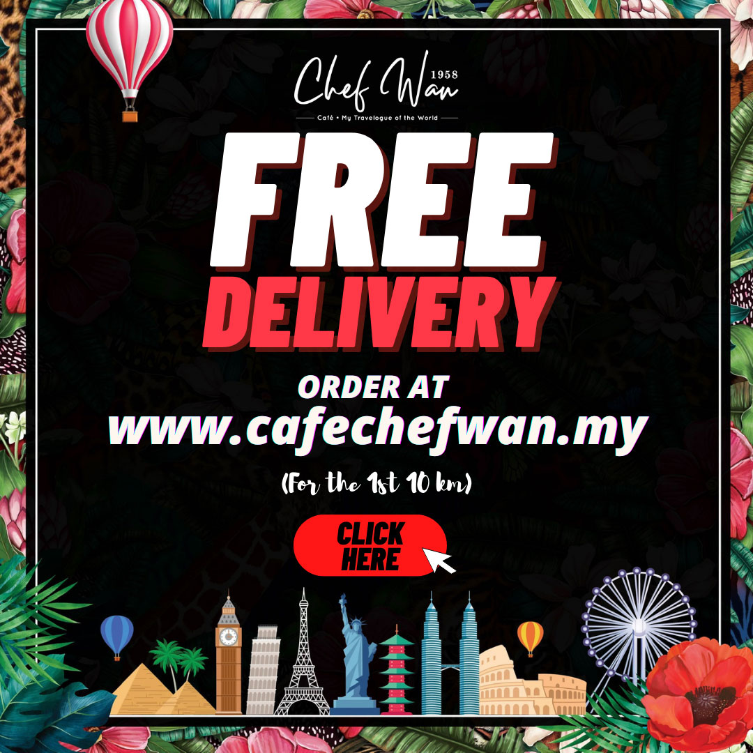 Cafe Chef Wan free delivery